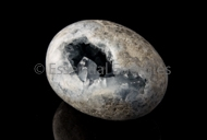 Celestite Large free-form Egg # 2