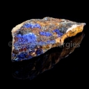 Azurite in the rock # 1