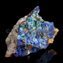 Azurite raw in the rock #3
