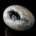 Celestite Free form large egg #2